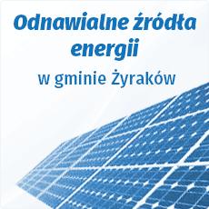 Odnawialne źródła energii w Gminie Żyraków